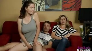 Molly Jane nails her Stepmother behind Moms back