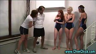 Bathing Harmonize cfnm british beotches predominate