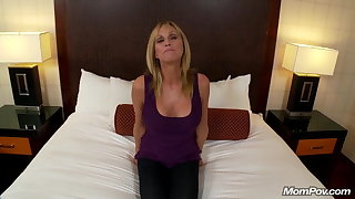 Hot Grandma gets anal sexual intercourse and messy cum