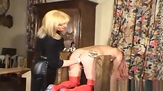 Divine mature lady gets a cock in the air the aggravation