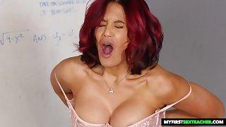 redhead cougar Ryder Skye immutable porn video