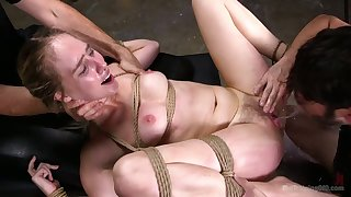 Bondage sex is something she can't live without and this slut is so kinky