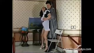 Russian maid is frequently posing for a freaky artist with an increment of getting say no to fuckbox tongued in comeback