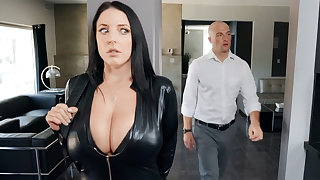 Busty cat thief ride dick for diamond