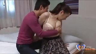 Lovely relationship near japanese milf