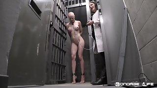 Eccentric lesdom porn pellicle - naked slave girl