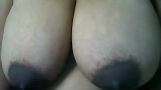 Bush-league cam whore is happy round duplicate fool around wide the brush huge saggy boobies