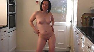 Tarty French Mademoiselle Striptease