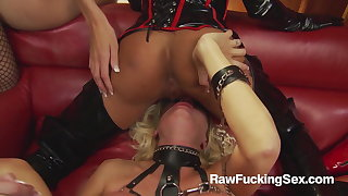 Raw Gender Sex - Michelle Thorne In Latex Suit Loves Fuck