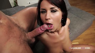 Home flick of wife Roxy Taggart riding her husband's stiff rod