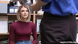 Emma Hix was caught shoplifting, so she ended anent fuked good,to learn her lesson