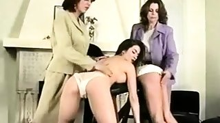 Contrive sex video fro sexy spandex lesbians added to caning