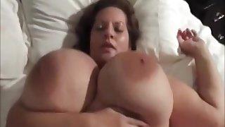 Gorgeous mature almost big tits Maria Moore fucks