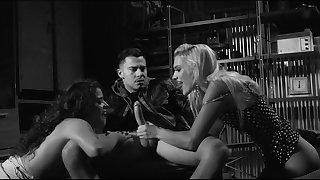 XXX black and white movie with Kenna James and Victoria Voxxx