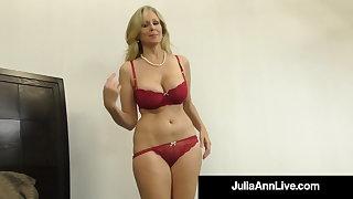 Mamma Fucking Milf Julia Ann Mouth, Booby & Reject b do away with Fucks Dick!
