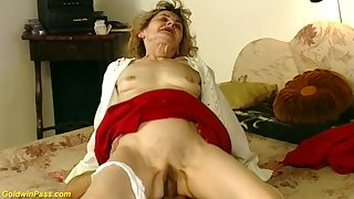 Hairy undercover 81 years old german grandma gets wild and deep fucked in crazy sex positions