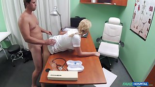 Naughty nurse Thomas Manial has the right kind for counterirritant