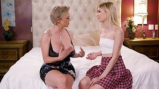 Marvelous and voracious for orgasm Dee Williams is ready for lesbian sex