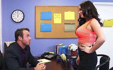 Office slut fucked